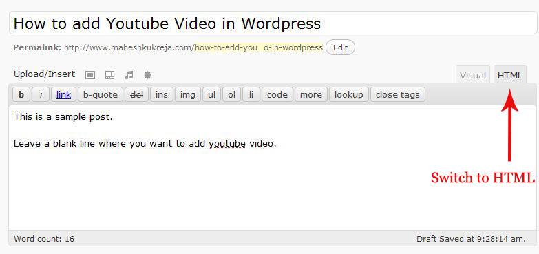 youtube_wordpress